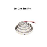 corte de tira de led al por mayor-1m 2m 3m 5m Tiras de LED 12v dc 60led / m 0.1w / chip Tira de luz flexible LED No impermeable Puede cortar