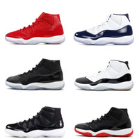 Wholesale fabric backing - classic 11 Basketball Shoes 11s win like 96 82 concord legend gamma Bred Space Jam 45 back 72 10 men women sports shoes