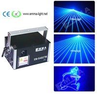 neue laser dj licht großhandel-NEUER 4000mW / 4w blauer Laser-Projektor der Farben-3D, Karikatur DMX-Parteilicht