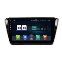 Wholesale 10 inch Octa core Andriod Car DVD player for Skoda Superb with GPS Steering Wheel Control Bluetooth Radio