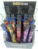 shisha zamanı nargile kalemleri toptan satış-Shisha kalem Eshisha Tek Kullanımlık Elektronik sigara shisha zaman E cigs 500 ponponları 10 tipi Çeşitli Meyve Tatlar Nargile kalem