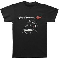 ingrosso tachimetro nero-T-shirt da uomo rossa / tachimetro King Crimson - Uomo