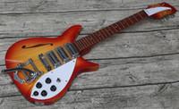 Wholesale guitar sound holes resale online - electric guitar rich electric guitar F sound hole viabrato