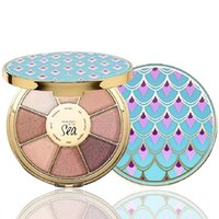 marcador livre venda por atacado-Floresta Tropical Do Mar Paleta de Sombras de Marcadores Rainforest Of The Sea Eyeshadow Paleta 8 cores navio livre
