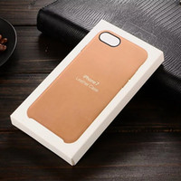paquet de vente au détail pour iphone achat en gros de-Haute Qualité Pour iPhone X / 8/7 / 6S Skin Case en cuir avec Emballage exquis Retail Retail Livraison gratuite