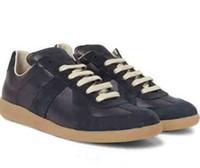 421f294c22 Al por mayor-Margiela Promoción Zapatillas de deporte de moda Cuero genuino  Hi-Stree Hip Hop Casual Hombre Calzado deportivo 39-46 Tallas grandes para  ...