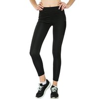 Wholesale sex yoga pants for sale - Women Sport Sex Yoga Leggings Tights Fitting Pants Slim Fitness Pencil Fashion Trousers Pants Eighth Length FS5763