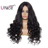 Wholesale Unice Hair Bettyou Wig Series Brazilian Body Wave Lace Front Human Hair Wigs For Black Women Remy Human Hair Wigs Pre Plucked