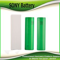 Wholesale Lithium Ion Battery Wholesale - 100% High Quality SONY VTC6 3000mAh VTC5 2600mAh VTC4 2100mAh 3.7V Li-ion 18650 Battery Rechargeable Batteries Using for Ecig Box Mods
