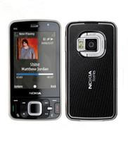 Wholesale 5mp cameras resale online - Original unlocked refurbished Nokia N96 GB Storage G WIFI GPS Camera MP refurbished phone