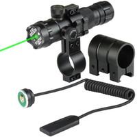 monture de visée laser pour fusil achat en gros de-20mm Airsoft Précis Tactique Laser Mount Vert Rouge Dot Laser Sight Rifle Chasse Pistolet Scope Rail Barrel Pressostat Mont