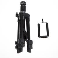 видеокамеры оптовых-220-550mm Professional Camera Tripod Stand Holder for Digital Cameras Camcorder for iPhone Samsung Smart Phone