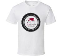 fanáticos del vino al por mayor-Zinburger Wine And Burger Bar Food Fan T Shirt Manga camiseta Hombres camiseta Envío gratis Top Tees Hot 2018 Summer Men 's T Shirt
