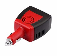 Wholesale car charger for power inverter resale online - Inverter v v W A Power Inverter DC To AC V To V Car Voltage Converter Automobiles Inversor with USB Charger