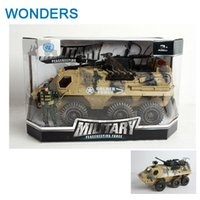 Wholesale big tanks toy resale online - Big Collectible Wheels Tanks and armored vehicles sand colored camouflage Diecast Tank Model Kids Toys Gift