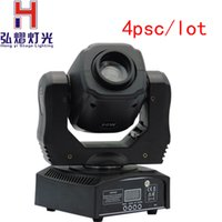 Wholesale Auto Moving - 2016 New arrive 4PCS Free Shipping DMX512 60W LED Spot Moving Head Light Gobo Wheel DMX512 DJ Led Moving Head gobo