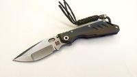 Wholesale strider titanium knife for sale - Group buy Best EDC Mick Strider Custom MSC XL Tanto Knife Colored Titanium Handle quot Stonewashing S35VN Blade Nightmare Folding Knife Tools
