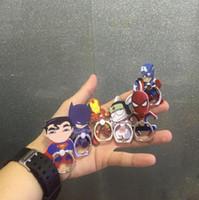 erkek telefon tutacağı toptan satış-Süper kahraman spiderman demir adam yazısı silikon parmak telefon tutucu Akıllı Telefonlar Tabletler için Esnek str ...