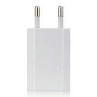зарядное устройство оптовых-Телефон зарядное устройство USB путешествия Moblie телефон EU Plug 5V 1A адаптер питания для iPhone для iPad для Sumsung Xiaomi Huawei
