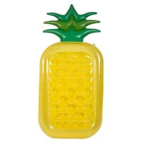 Wholesale play series - Inflatable Swimming Circle Plastic Cement Toy Adult Kid Outside Play Summer Beach Pineapple Floats Pad Fruits Series Hot Sale 45yn V