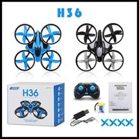 Wholesale JJRC Drone H36 mini Drones Remote Control Aircraft Reversal Mini UAV Four axis Aircraft DHL Free