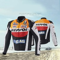 Wholesale Duhan Race Jacket - BRAND DUHAN Motorcycle Jackets moto GP REPSOL motorbike Racing Jacket Top Quality OXFORD Riding Jersey fastshippnig