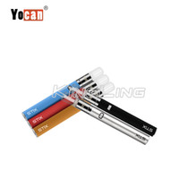 Wholesale E Cigarette Leak - 100% Authentic Yocan STIX Starter Kit 320mAh built-in battery with 0.6ml Tank & Leak-proof design E-cigarette Starter Kit