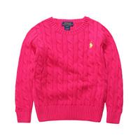 детская одежда поло оптовых-Бренд высокое качество школа мальчиков и девочек верхняя одежда одежда дети свитер детская одежда мода дети поло свитера