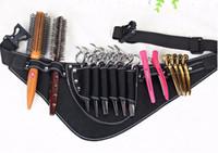 Wholesale scissors belt for sale - Group buy Salon Barber Scissors Bag Scissor Clips Shears Shear Bags Tool Hairdressing Holster Pouch Holder Case Belt