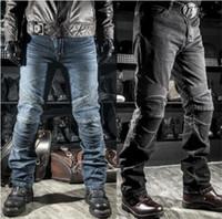Wholesale komine riding resale online - KOMINE jeans moto jeans riding on the road autumn jeans four piece distribution protection