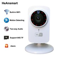 Wholesale webcam ip wifi for sale - HD x720P Wireless IP Camera Portable smart Wifi CCTV Security Camera Webcam Surveillance Camcorder Night Vision Audio Video Telecamera
