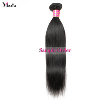 Wholesale indian hair sample for sale - Group buy 8A Unprocessed Brazilian Peruvian Straight Body Loose Deep Curly Water Wave Human Hair Extensions inch Dyeable One Piece as Sample