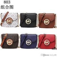 Wholesale Designer Name Bags - 2018 styles Handbag Famous Designer Brand Name Fashion Leather Handbags Women Tote Shoulder Bags Lady Leather Handbags Bags purse 806 k