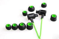 auriculares de juego razer al por mayor-Alta calidad Razer Hammerhead Pro V2 auriculares en la oreja los auriculares con micrófono caja al por menor Gaming Headset artículo de moda
