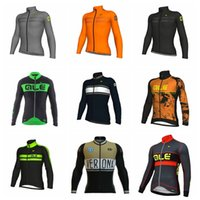 Wholesale 2018 ALE cycling jersey mens cycling clothing mtb bike maillot Breathable ropa clismo hombre Quick dry Bicycle Long sleeves jacket H3009F