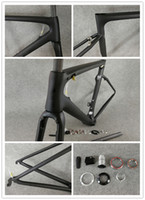 Wholesale Carbon Road Bikes 54 - The newest 13 models T1000 UD SL-6 road bicycle Frameset with 49-52-54-56-58cm BB30 BB68 PF30 SL6 carbon road frames free shipping