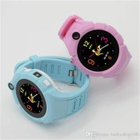 Wholesale Arrival Tracker - 2017 New Arrival Kids Smart Watches with Camera LBS Location Child Touch Screen Smartwatch SOS Anti-Lost Monitor Baby Wristwatch