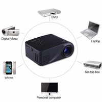 Wholesale digital projector sd card resale online - LCD Mini Projector Lumens Multimedia Home Theater Video LED Projector Supports p HDMI USB SD Card VGA AV for Movie Games Party