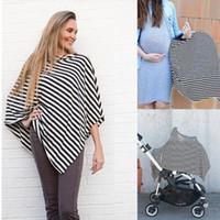 ingrosso breastfeeding scarf-2in1 Grembiule copri-sciarpa per allattamento per seggiolini auto per neonati