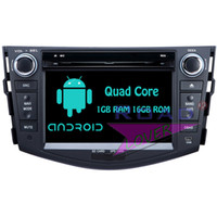 Wholesale toyota rav4 dvd player gps - Roadloevr Android 6.0 Quad Core 2 Din Car DVD Player GPS Navigation For Toyota RAV4 2006-2012 Stereo PC System Unit Automagnitol