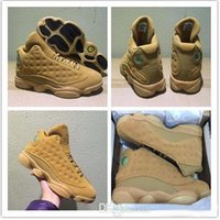 Wholesale L Shoes - Cheap 13 Basketball Shoes Winter Wheat Golden Harvest Elemental Gold Altitude L&R Men 13s Basketball Sneaker Athletic Sports Shoes With Box
