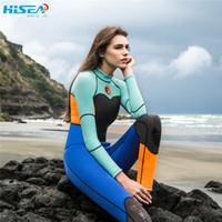 Wholesale neoprene dive - Hisea 1.5mm Neoprene Swimsuit Equipent For Diving Scuba Swimming Surfing Spearfishing