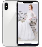 Wholesale mtk6592 phones resale online - ERQIYU goophone X Face ID unlocked cell phones inch MTK6592 Octa Core shown G LTE G RAM GB ROM Smartphones