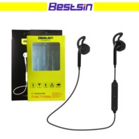 Wholesale Outdoor Headset - Bestsin S6 Wireless Bluetooth Headphone Stereo Cellphone in-ear Headset with Microphone outdoor sport running for smart phone