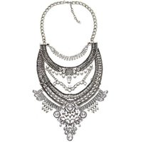 Wholesale statement necklaces - Fashion Vintage Bohemia Ethnic Maxi Statement Necklace Women Jewelry Personality Show Necklaces pendants Facroty Sale collares