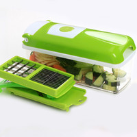 Wholesale Multifunctional Vegetable Fruit Peeler - Rschef 12 Pcs Multifunctional Shredder Fruit Vegetable Peeler Potatoes Slicer Dicer Chopper Cutter Container Easy Kitchen Tools