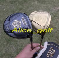 Wholesale Katana Driver Golf - 2018 New golf driver Katana Voltio NINJA driver 9 or 10 degree with headcover OEM quality golf clubs