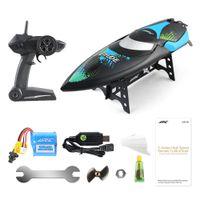 mini oyuncaklar toptan satış-2.4 GHz 2CH 25 KM / sa Taşınabilir Mini RC Tekne Uzaktan Kumanda Sürat RC Gemi Oyuncaklar Hediyeler (JJRC-S1) H022
