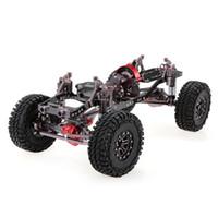 Wholesale rc crawler parts - RC Car 1 10 Racing CNC Metal Aluminum & Carbon Frame AXIAL SCX10 Chassis 313mm Wheelbase Rock Crawler Cars Assemble DIY Parts