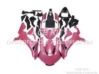 yamaha r1 carenados rosas al por mayor-Carenados de motocicletas ACE para YAMAHA YZF R1 2015-2016 Compresión o inyección Cuerpo rosa sorprendente No.1222
